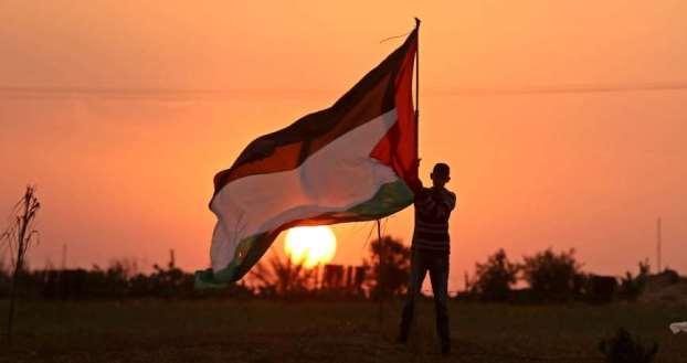 """""""حديقة التضامن"""" مع قضية فلسطين"""