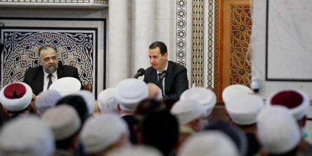 حديث الرئيس بشار الأسد أمام اجتماع السادة العلماء والعالمات في جامع العثمان بدمشق (النص كاملاً)