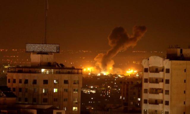 """العدوان """"الاسرائيلي"""" على قطاع غزة (2021) حتى فجر اليوم الخامس"""